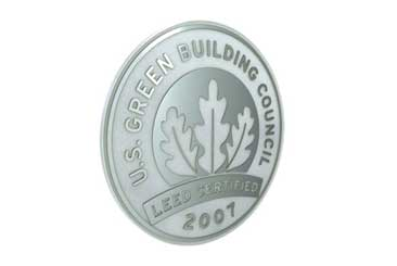 Leed seal2009mar12