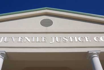 Juvenile justice courthouse