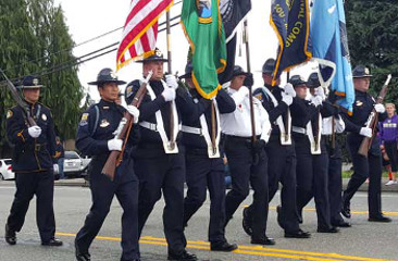 Wa doc honor guard